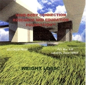 "MIND-BODY CONNECTION   ""WEIGHT LOSS"" CD"