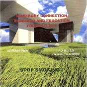 "MIND-BODY CONNECTION  ""STOP SMOKING"" CD"